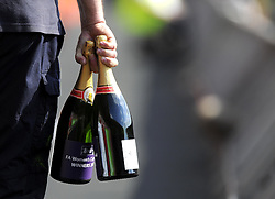 Champagne is prepared for the Fa Cup Winners - Photo mandatory by-line: Joseph Meredith/JMP - Tel: Mobile: 07966 386802 - 26/05/2013 - SPORT - FOOTBALL - Keepmoat Stadium - Doncaster . Arsenal Ladies v Bristol Academy WFC - The FA Women's Cup.