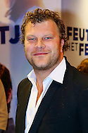 AMSTERDAM - In theater Tuschinski is de Nederlandse film 'Feuten het Feestje' in premiere gegaan. Met hier op de foto  Bas Keijzer. FOTO LEVIN DEN BOER - PERSFOTO.NU