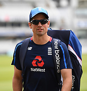 Alastair Cook of England pictured during training at Lord's, London ahead of the test match series against Pakistan.<br /> Picture by Simon Dael/Focus Images Ltd 07866 555979<br /> 21/05/2018