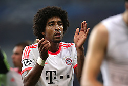 23.10.2012, Grand Stade Lille Metropole, Lille, OSC Lille vs FC Bayern Muenchen, im Bild DANTE (FC Bayern Muenchen - 4) applaudiert den Fans // during UEFA Championsleague Match between Lille OSC and FC Bayern Munich at the Grand Stade Lille Metropole, Lille, France on 2012/10/23. EXPA Pictures © 2012, PhotoCredit: EXPA/ Eibner/ Gerry Schmit..***** ATTENTION - OUT OF GER *****