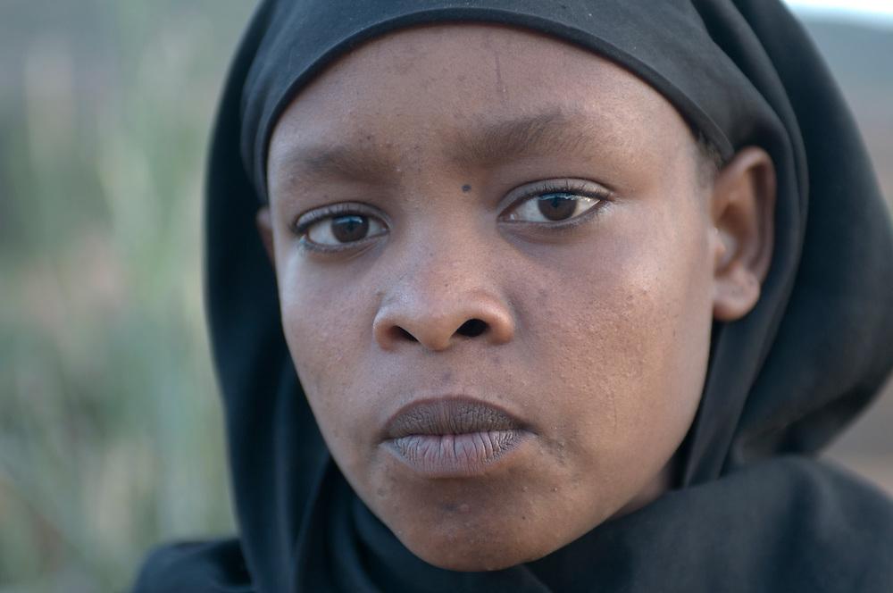 Young muslim girl, Yabello,Ethiopia,Africa