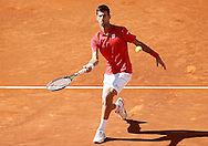 Novak Djokovic during the Madrid Open at Manzanares Park Tennis Centre, Madrid<br /> Picture by EXPA Pictures/Focus Images Ltd 07814482222<br /> 04/05/2016<br /> ***UK &amp; IRELAND ONLY***<br /> EXPA-ESP-160504-0027.jpg
