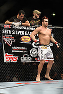 OBERHAUSEN, GERMANY, NOVEMBER 13, 2010: Seth Petruzelli during UFC 122 inside the Konig Pilsner Arena in Oberhausen, Germany.