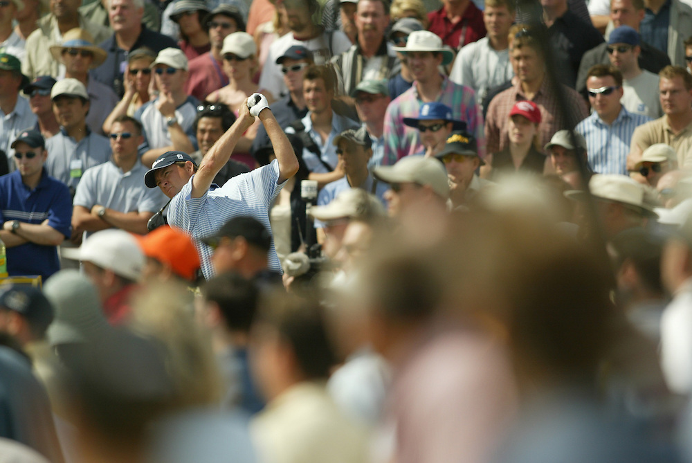 Davis Love III..2003 British Open..Fourth Round..Royal St. George's Golf Club..Sandwich, Kent, England..Sunday, July 20  2003..photograph by Darren Carroll