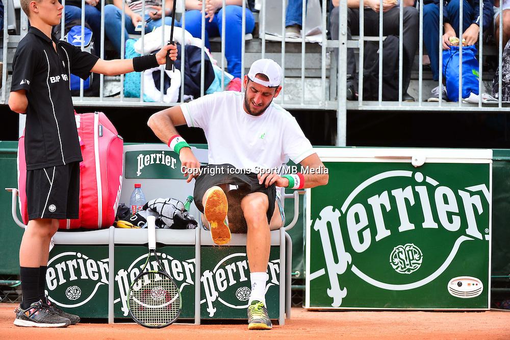 Luca VANNI - 25.05.2015 - Jour 2 - Roland Garros 2015<br />Photo : Dave Winter /  Icon Sport