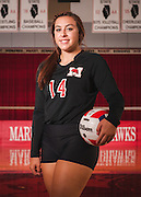 Marist High School 2015 Volleyball Photography. Chicago, IL. Chris Pestel Photographer
