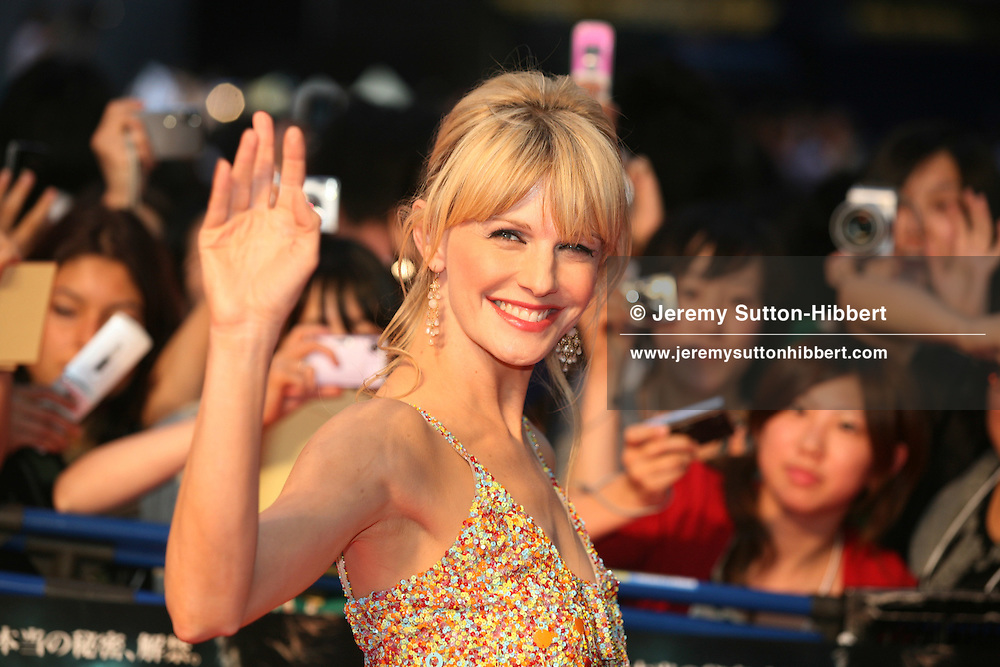 "Actress Kathryn Morris at the red carpet premiere of the 5th Harry Potter movie, ""Harry Potter and the Order of the Phoenix"", in attendance were producer David Heyman, and actor Daniel Radcliffe, at Roppongi Hills, Tokyo, Japan, on Thursday 28th  June 2007."