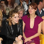 Elie Saab Front Row & Backstage - Paris FW S/S 2012