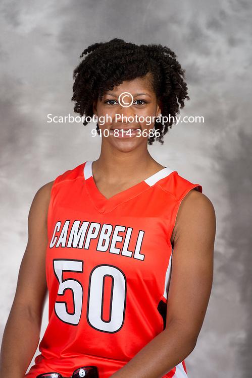 Campbell University Women Basketball Portraits