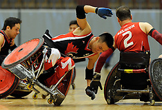20130607 Canada - Belgium,  DHIF Rugby Wheelchair Challenge