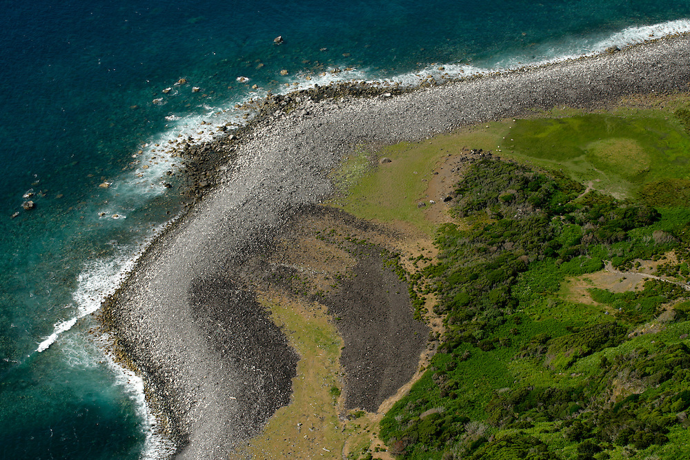 Flores island coastal landscape