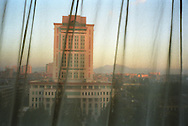 The view from the hotel in Kunming, one of the locations for the Think Uk Writers Train. The Think UK China Writers Train is a project, in collaboration with the British Council, to take 4 UK writers/poets and 4 Chinese writers/poets around China by train visiting 6 major cities to hold talks, seminars and readings of their work.