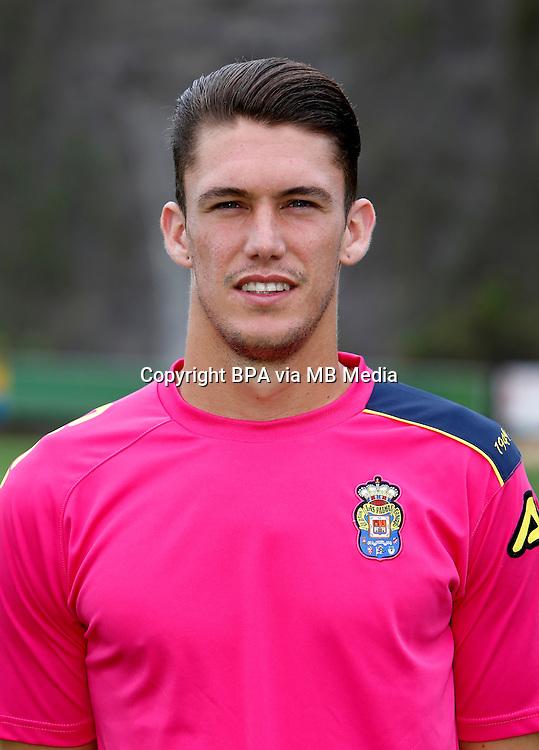 Spain - Liga BBVA 2015-2016 / <br /> ( UD Las Palmas ) - <br /> Daniel Lorenzo Lorenzo &quot; Dani Lorenzo &quot;