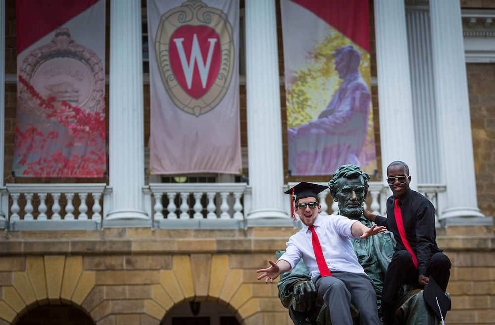 University of Wisconsin-Madison campus Bascom Hill July 1, 2014, in Madison, Wis. (Photo @ Andy Manis)