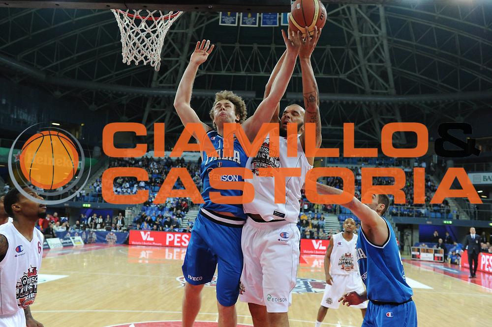 DESCRIZIONE : Pesaro Edison All Star Game 2012<br /> GIOCATORE : Nicolo Melli<br /> CATEGORIA : rimbalzo<br /> SQUADRA : Italia<br /> EVENTO : All Star Game 2012<br /> GARA : Italia All Star Team<br /> DATA : 11/03/2012 <br /> SPORT : Pallacanestro<br /> AUTORE : Agenzia Ciamillo-Castoria/GiulioCiamillo<br /> Galleria : FIP Nazionali 2012<br /> Fotonotizia : Pesaro Edison All Star Game 2012<br /> Predefinita :