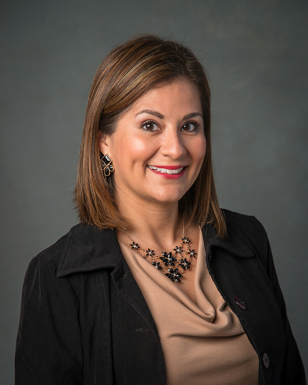 Maria T. Garcia poses for a photograph, September 2, 2015.