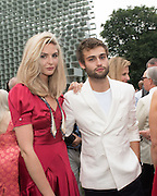 TAMSIN EGERTON; DOUGLAS BOOTH, 2016 SERPENTINE SUMMER FUNDRAISER PARTY CO-HOSTED BY TOMMY HILFIGER. Serpentine Pavilion, Designed by Bjarke Ingels (BIG), Kensington Gardens. London. 6 July 2016