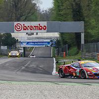 #51, AF Corse, Ferrari 488 GTE, driven by James Calado, Alessandro Pier Guidi, FIA WEC 2017 Prologue, Autodromo Nazionale Monza, 02/04/2017,