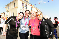 A weekend of glorious weather welcomed approximately 150 people from all over the country and abroad to Inis Mor , Arann Islands to participate in the annual Aer Arann half marathon.  Over the past ten years people have walked and ran the roads of Inis Mor to raise in excess of 1.2 million to purchase vital life saving equipment for sick children in both Crumlin and Temple Street hospitals.  Laura Hartung, Dublin Audrey Kavanagh, Orla McGurke, and Sarah Jane Pentony Swords took part in the run  . Photo:Andrew Downes.