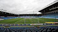 View of Leeds United's stadium before the Sky Bet Championship match at Elland Road, Leeds against  Hull City<br /> Picture by Graham Crowther/Focus Images Ltd +44 7763 140036<br /> 05/12/2015