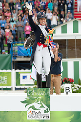 Charlotte Dujardin, (GBR) - Freestyle Grand Prix Dressage - Alltech FEI World Equestrian Games™ 2014 - Normandy, France.<br /> © Hippo Foto Team - Jon Stroud<br /> 25/06/14