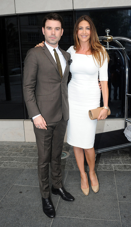 04.JULY.2012. LONDON<br /> <br /> DAVE BERRY AND LISA SNOWDON ATTEND THE ARQIVA RADIO AWARDS HELD AT THE PARK PLAZA IN LONDON.<br /> <br /> BYLINE: EDBIMAGEARCHIVE.CO.UK<br /> <br /> *THIS IMAGE IS STRICTLY FOR UK NEWSPAPERS AND MAGAZINES ONLY*<br /> *FOR WORLD WIDE SALES AND WEB USE PLEASE CONTACT EDBIMAGEARCHIVE - 0208 954 5968*