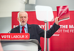 April 19, 2018 - London, London, United Kingdom - Labour's social housing review. .Jeremy Corbyn launching Labour's social housing review at Local Government Association independent group office..The Labour leader and shadow housing secretary John Healey will set out the party's plans. (Credit Image: © Gustavo Valiente/i-Images via ZUMA Press)