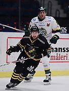 STOCKHOM 2017-10-18. Jens Jakobs i AIK under matchen i Hockeyallsvenskan mellan AIK och IF Bj&ouml;rkl&ouml;ven p&aring; Hovet, Stockholm, den 18 oktober 2017.<br /> Foto: Nils Petter Nilsson/Ombrello<br /> ***BETALBILD***