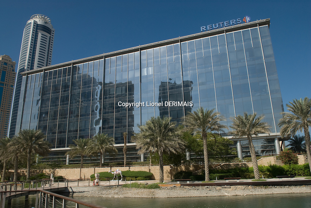 Reuters Dubai headquarters. Dubai, one of the seven emirates and the most populous of the United Arab Emirates sits on the southern coast of the Persian gulf.