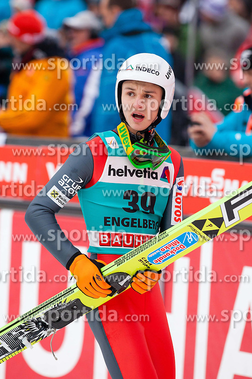 22.12.2013, Gross Titlis Schanze, Engelberg, SUI, FIS Ski Jumping, Engelberg, Herren, im Bild Klemens Muranka (POL) // during mens FIS Ski Jumping world cup at the Gross Titlis Schanze in Engelberg, Switzerland on 2013/12/22. EXPA Pictures &copy; 2013, PhotoCredit: EXPA/ Eibner-Pressefoto/ Socher<br /> <br /> *****ATTENTION - OUT of GER*****