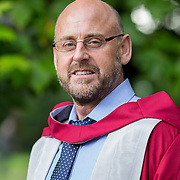 "25.08.2016          <br />  Faculty of Business, Kemmy Business School graduations at the University of Limerick today. <br /> <br /> Attending the conferring was Dr. Stephen Gallagher, Assistant Dean of Research for Education and Health Sciences, recipient of the UL Award for Excellence in services to the Community. Picture: Alan Place.<br /> <br /> <br /> As the University of Limerick commences four days of conferring ceremonies which will see 2568 students graduate, including 50 PhD graduates, UL President, Professor Don Barry highlighted the continued demand for UL graduates by employers; ""Traditionally UL's Graduate Employment figures trend well above the national average. Despite the challenging environment, UL's graduate employment rate for 2015 primary degree-holders is now 14% higher than the HEA's most recently-available national average figure which is 58% for 2014"". The survey of UL's 2015 graduates showed that 92% are either employed or pursuing further study."" Picture: Alan Place"