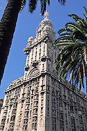 Palacio Salvo, Montevideo, Uruguay.  In 1927 this was the tallest building in South America