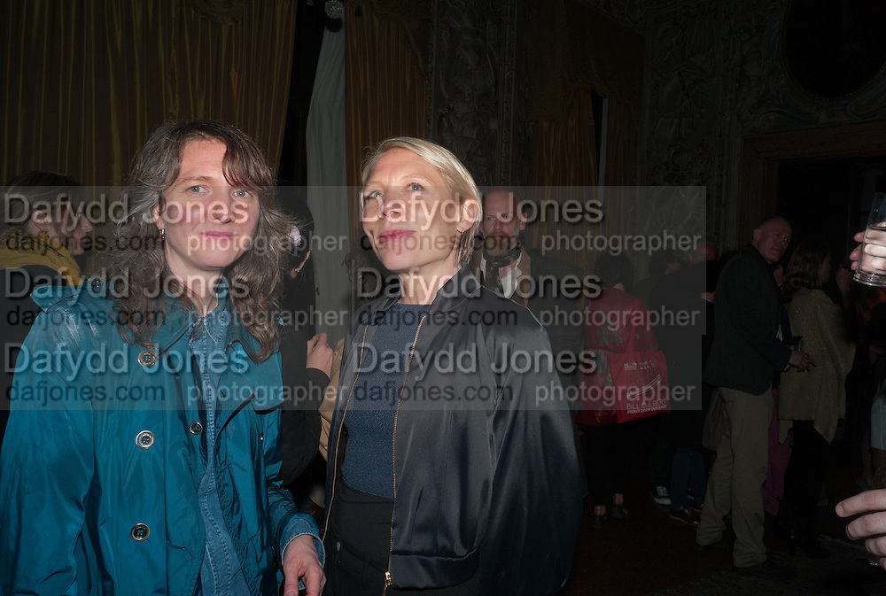 POLLY STAPLE; EMILY KING, Andrea Dibelius of the EMDASH Foundation hosts party to celebrate the Austrian Pavilion and artist Mathias Poledna at the Venice Biennale. Palazzo Barbaro, Venice. 30 May 2013<br /> <br /> <br /> Venice. Venice Bienalle. 28 May 2013