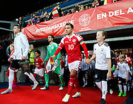 FOOTBALL: Captain Christian Eriksen (Denmark) entering the field before the Friendly match between Denmark and Germany at Brøndby Stadion on June 6, 2017 in Brøndby, Denmark. Photo by: Claus Birch / ClausBirch.dk.