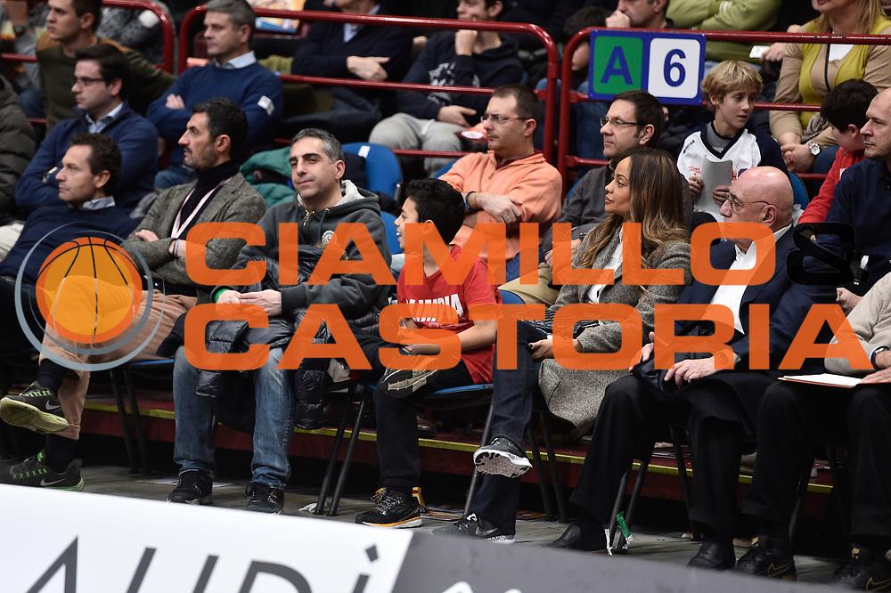 DESCRIZIONE : Milano BEKO Final Eigth 2015-16 Vanoli Cremona EA7 Emporio Armani Milano<br /> GIOCATORE : Adriano Galliani<br /> CATEGORIA : <br /> SQUADRA : <br /> EVENTO : BEKO Final Eight 2015-2016<br /> GARA : Vanoli Cremona EA7 Emporio Armani Milano<br /> DATA : 20/02/2016<br /> SPORT : Pallacanestro<br /> AUTORE : Agenzia Ciamillo-Castoria/GiulioCiamillo<br /> Galleria : Lega Basket A 2015-2016<br /> Fotonotizia : Milano Final Eight 2015-16 Vanoli Cremona EA7 Emporio Armani Milano