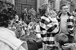 Exodus of East German refugees in Prague 1989 - Through Prague to Freedom<br /> The Exodus of GDR Citizens through Czechoslovakia to the Federal Republic of Germany, September 30 - November 10, 1989