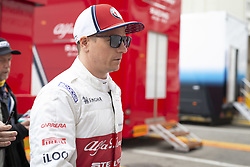 February 20, 2019 - Barcelona, Spain - RAIKKONEN Kimi (fin), Alfa Romeo Racing C38, portrait during Formula 1 winter tests from February 18 to 21, 2019 at Barcelona, Spain - Photo  /  Motorsports: FIA Formula One World Championship 2019, Test in Barcelona, (Credit Image: © Hoch Zwei via ZUMA Wire)