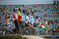 the 2018 UCI BMX World Championships in Baku, Azerbaijan.