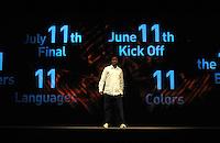 Fussball Nationalmannschaft :  Saison   2009/2010   10.11.2009 ADIDAS WM 2010 Trikot Vorstellung (Teamgeist) Praesentation mit Schauspieler Mlamly