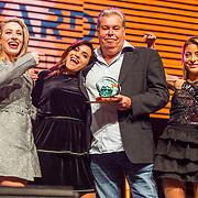 NLD/Amsterdam/20190208- 100% NL Awards  2019, Benno de Leeuw wint de award voor Manager van het jaar
