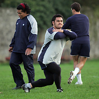Kees Meeuss-ex All Black, pictured at the Castres training session in Ennis Rugby Grounds on Friday ahead of their meeting with Munster in Thomand Park.Pic. Brian Arthur/ Press 22.