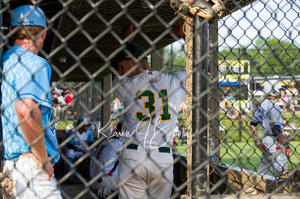 New England Collegiate Baseball All Star game at Robbie Mills Field in Laconia, NH.  Karen Bobotas/for the Laconia Daily Sun