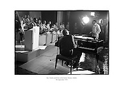 Ray Charles performing at the Gaiety Theatre, Dublin.<br /> <br /> 9th September 1964<br /> 09/09/1964