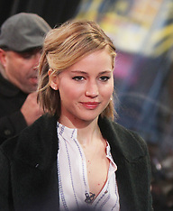 NOV 13 2014 Jennifer Lawrence at Good Morning America