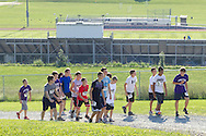 Central Valley, New York - Runners compete in the Woodbury Country Ramble race onAug. 26, 2012.