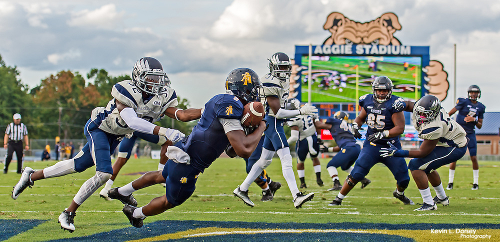 2016 A&T Football vs St. Augustine's for the Season Opener in Aggie Stadium