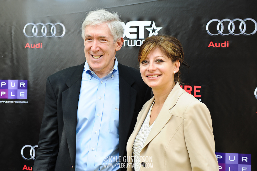 Maria Bartiromo and guest