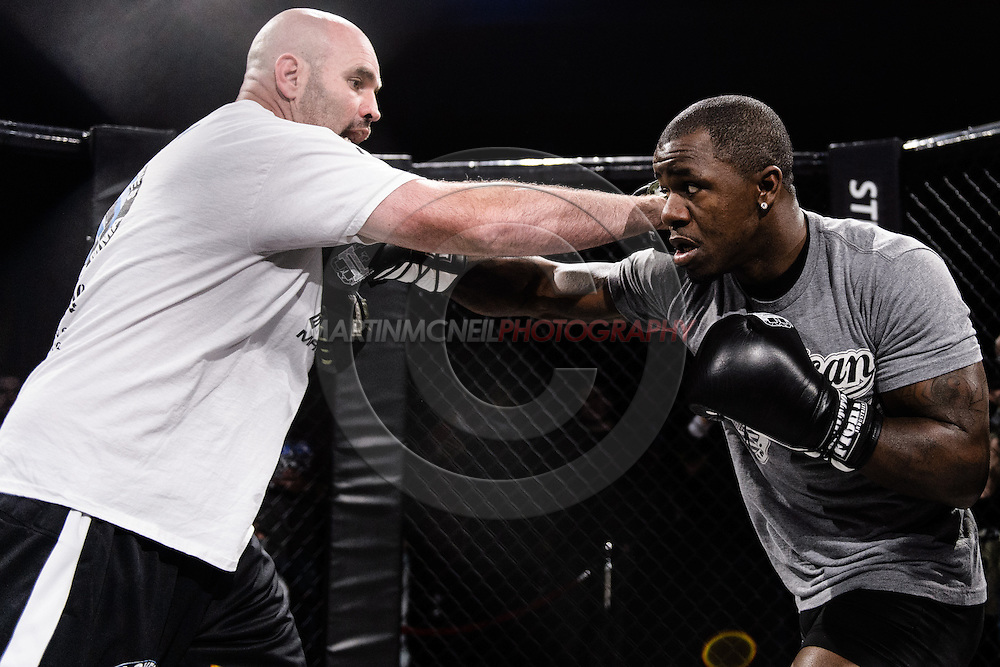 "LONDON, ENGLAND, MARCH 5, 2014: Melvin Guillard is pictured at the media open work-out sessions for ""UFC Fight Night: Gustafsson vs. Manuwa"" inside One Embankment in London, England (Martin McNeil for ESPN)"