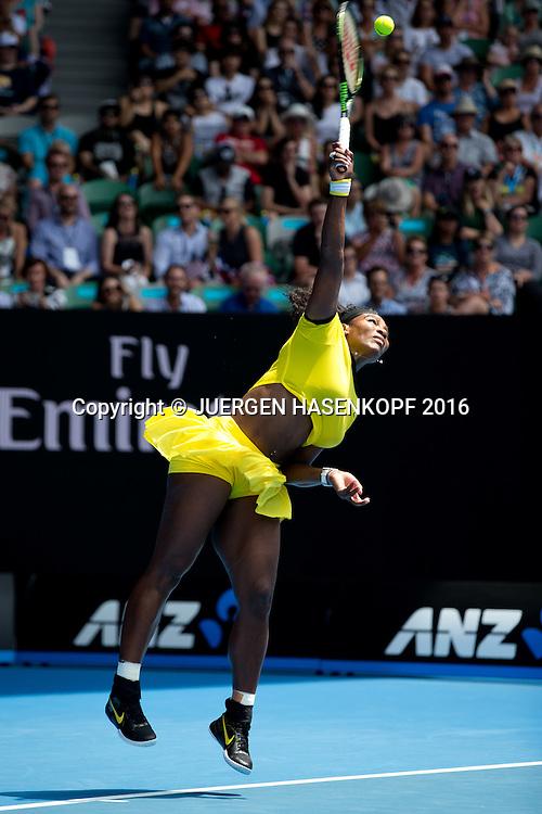 Serena Williams, Australian Open 2016<br /> <br /> Tennis - Australian Open 2016 - Grand Slam ITF / ATP / WTA -  Melbourne Park - Melbourne - Victoria - Australia  - 26 January 2016.