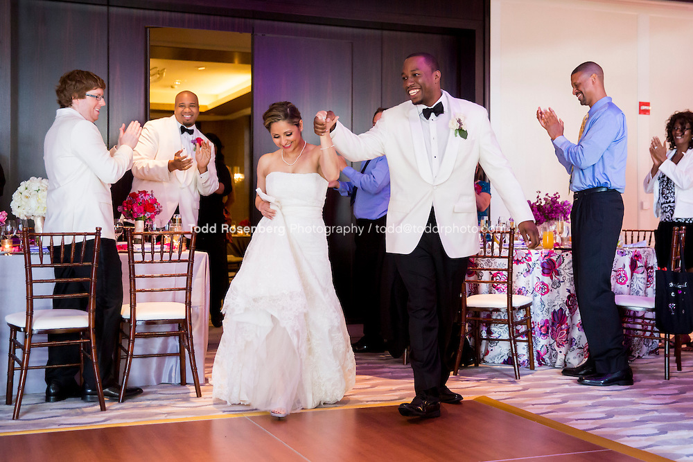 5/21/13 12:06:29 PM .The wedding of April and Sakou on Windy City Live... . © Todd Rosenberg Photography 2013